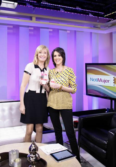 Patricia Arribálzaga en Notimujer de la CNN