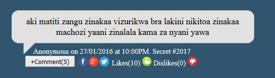 MySecret.co.ke- The Site Where Kenyans Share Some Of Their Dark Secrets Anonymously!