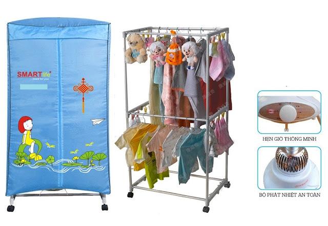 3 Tuyệt chiêu giúp bạn sử dụng tủ sấy quần áo tốt, bền lâu