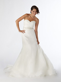 Wedding Gown Designed by Kirstie Kelly exclusively for Costco which will be in Bloomfield Michigan