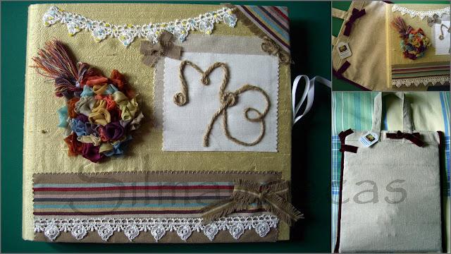 cuaderno de recuerdo de boda