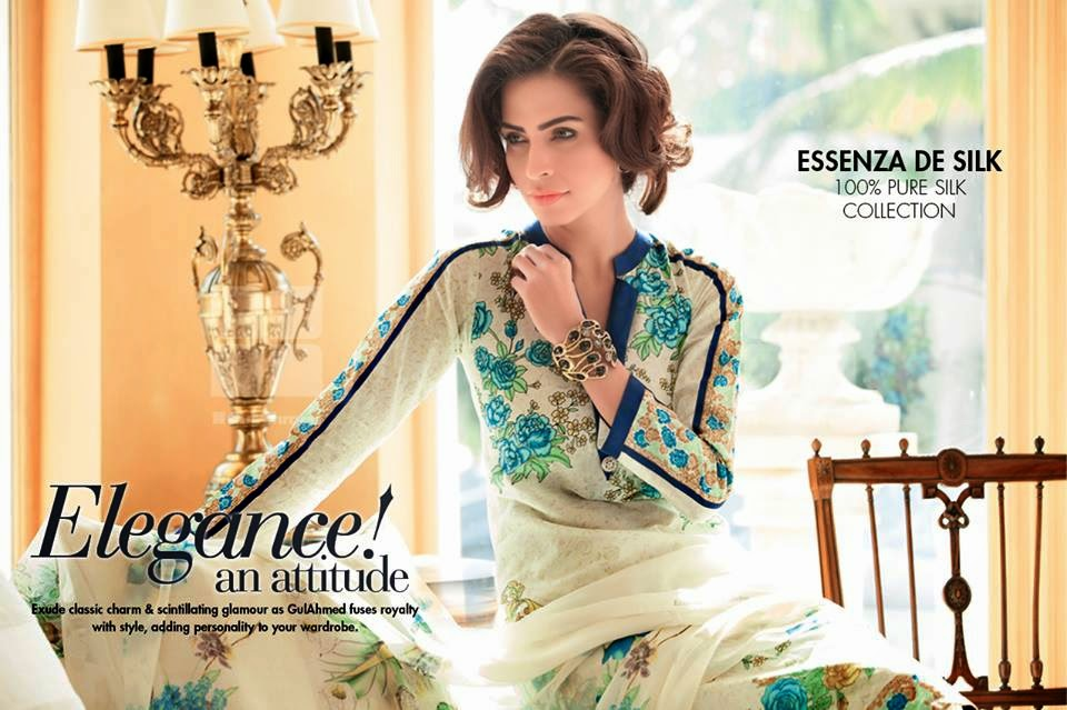 GulAhmedNewCollection wwwfashionhuntworldblogspot 16  - Gul Ahmed Summer Dresses Collection 2014-2015