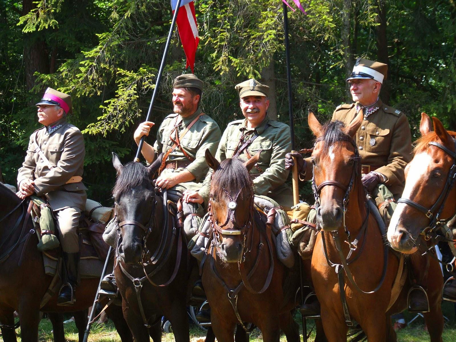 Szwadron 11. Pułku Ułanów Legionowych z Radomia. Foto. Jacek Lombarski.