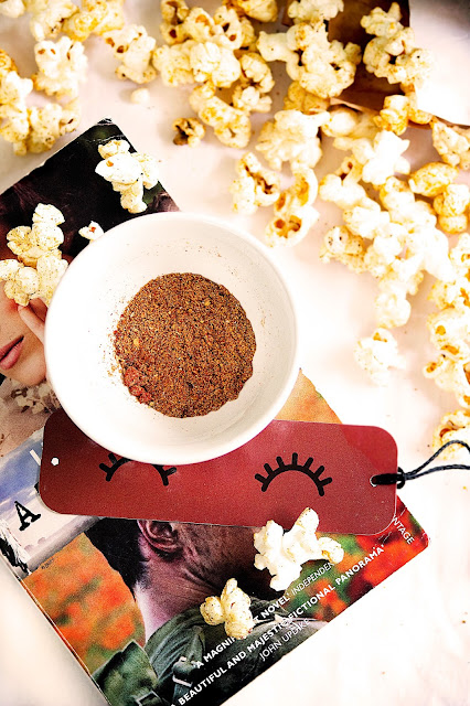 homemade butter popcorn with spicy masala recipe