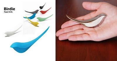 abrecartas birdie. Birdie paper knife