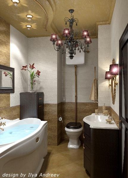 decora y disena: Un Baño Estilo Art Deco