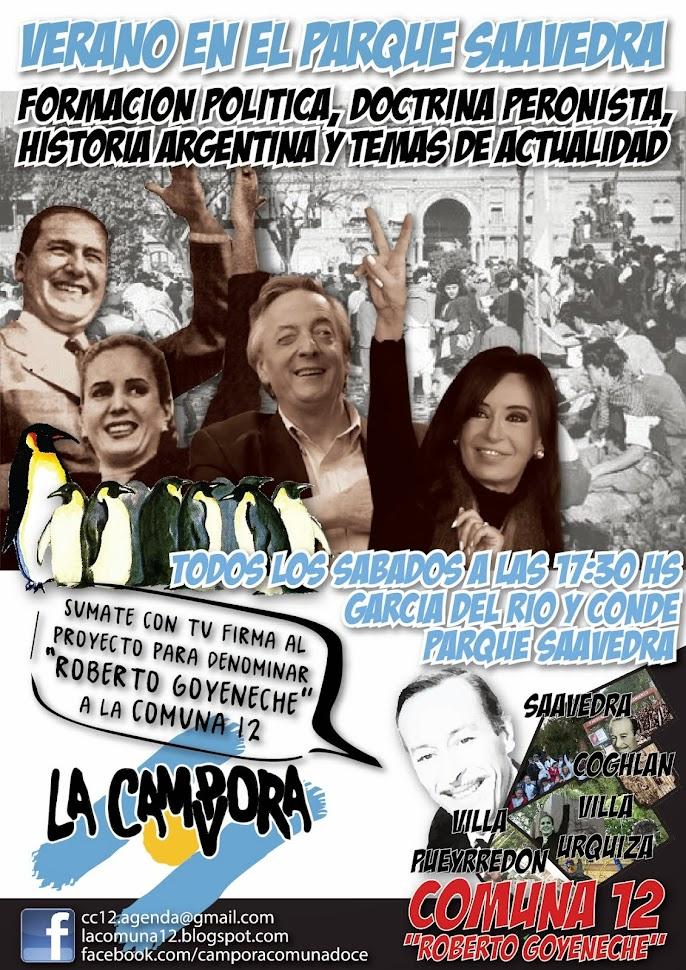 Formación Política en Parque Saavedra