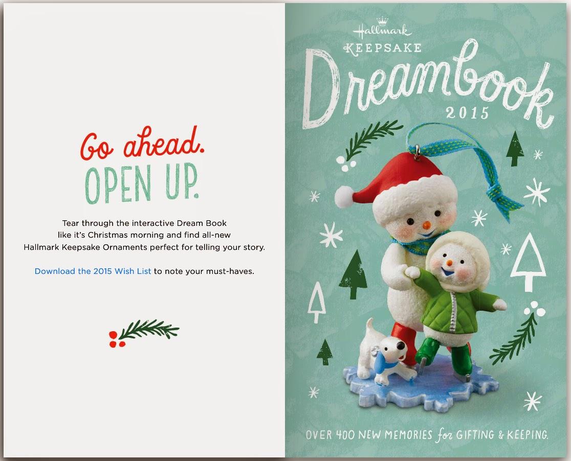 Click to visit the interactive 2015 dream book at hallmark com