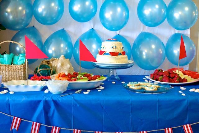 Ruffles And Stuff~: Sailboat Baby Shower!