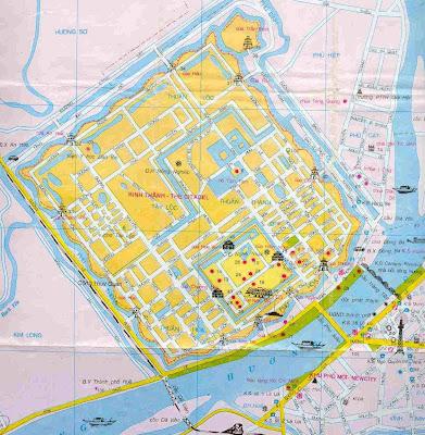 Map Hue - Hue Map - Street Hue - Vietnam