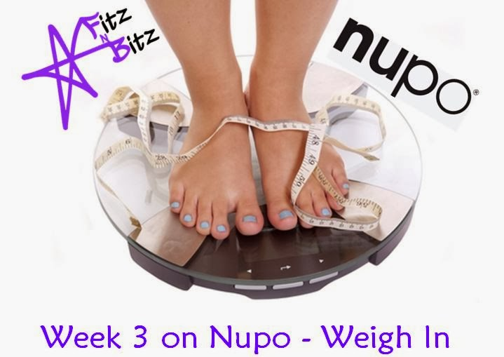 Wednesday Weigh In #4 - Nupo Journey