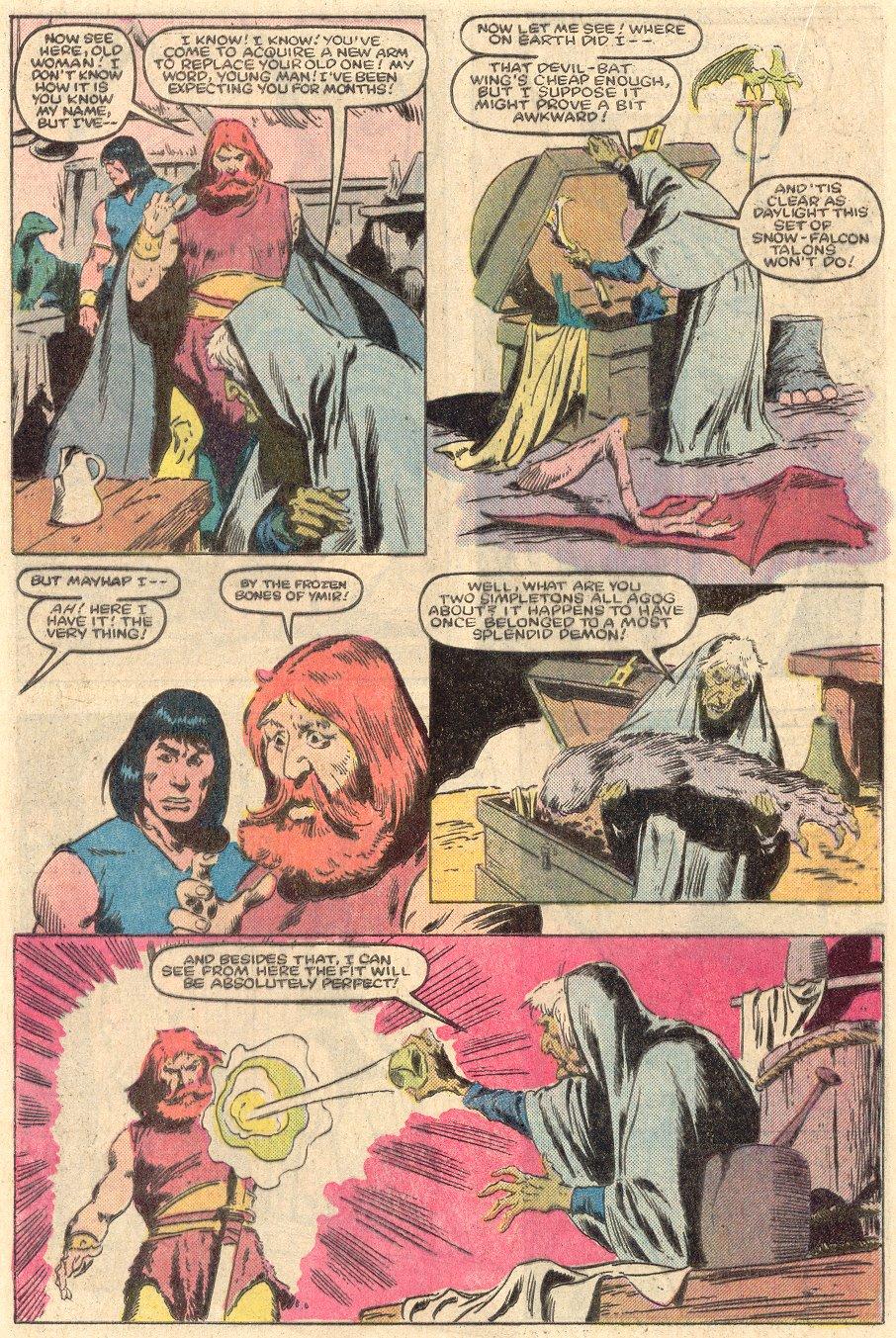 Conan the Barbarian (1970) Issue #161 #173 - English 11