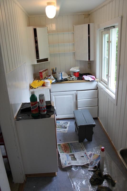 Noe spiselig: prosjekt hyttekjøkken.