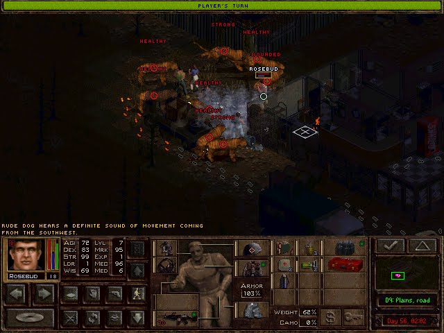 Jagged Alliance 2: Urban Chaos - Increase Merc Strength Description