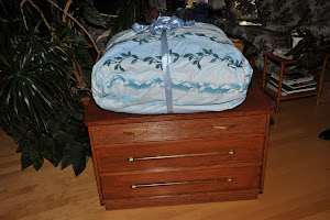 Traditional Wedding Blanket and Hope Chest