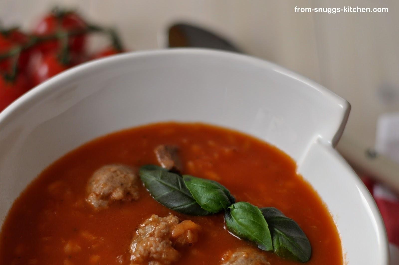 Mälzers Reis-Suppe