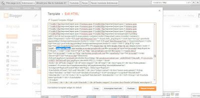 Ctrl + F untuk mencari kode javascript