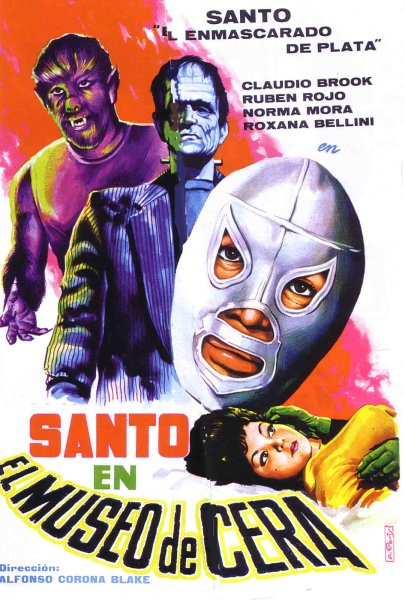 Santo en el museo de cera movie