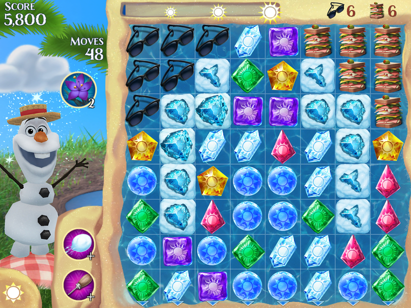 Frozen Free Fall App Update