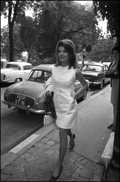 Jackie Kennedy sleeveless dress 1969