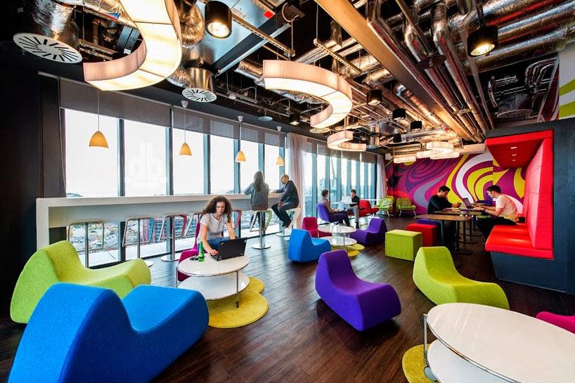 Design l e c les bureaux de google