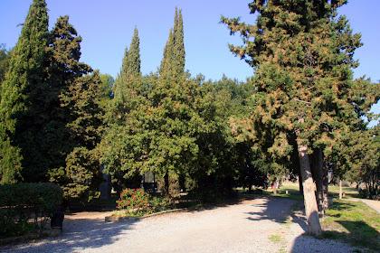 Entrada al Parc de la Salut