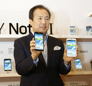 samsung launches the new Galaxy Note II