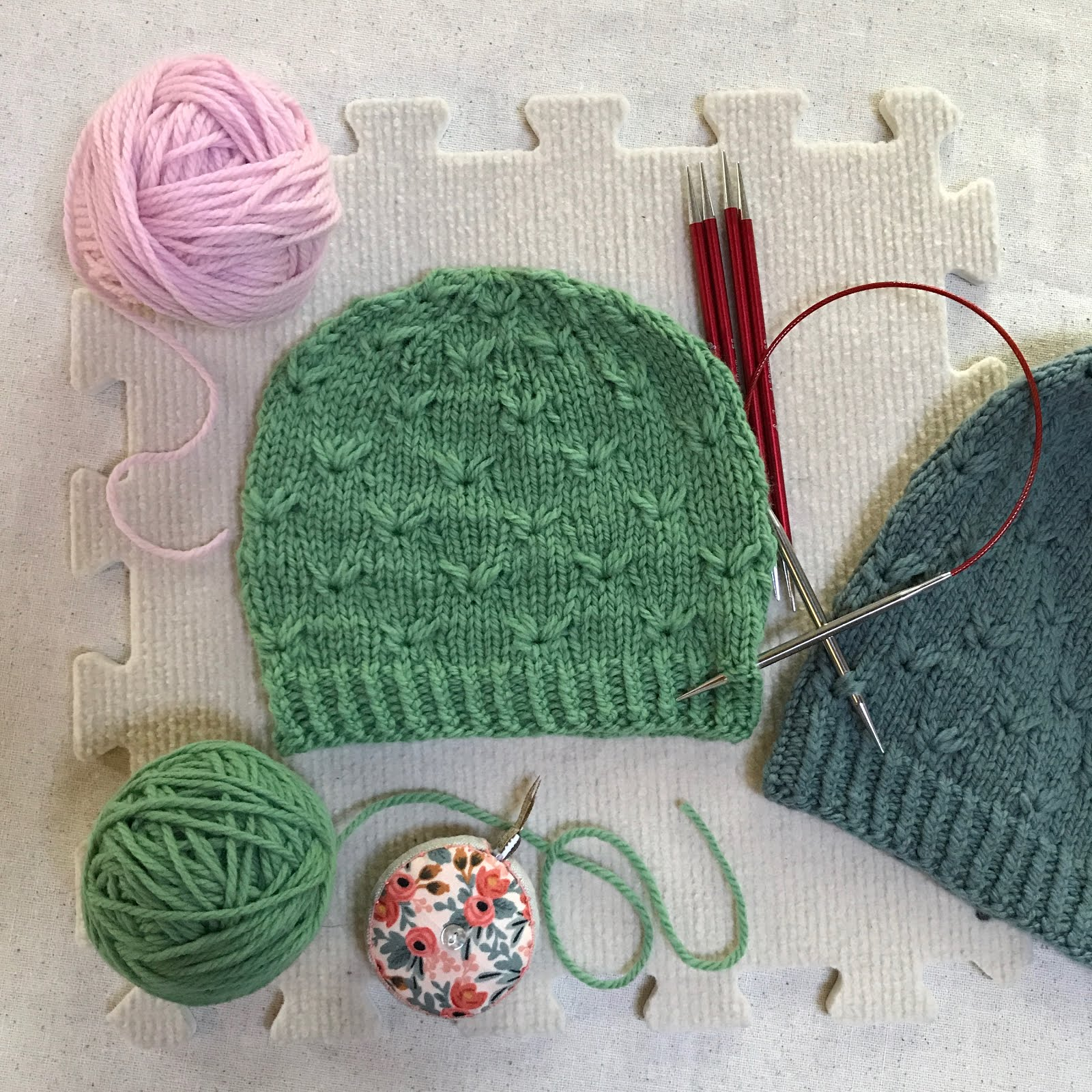 The Baby Size Hat Is Sized To Fit About A 06 Month Old The Colorway In  The Sample Is Grassland And It Is So Perfectly Paired With A Priscilla (the