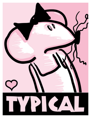 "Babymouse ""Typical"" Camapaign Poster"