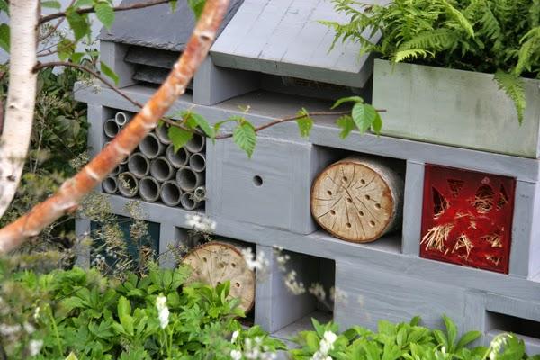 Insect Hotels benificial predators