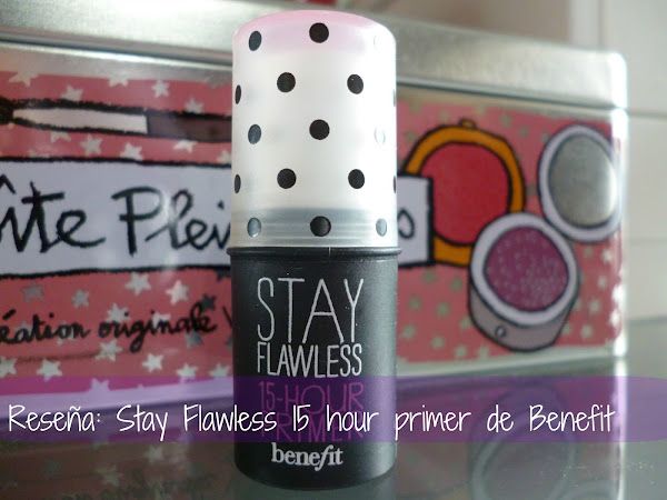 Reseña: Pre base Stay Flawless 15 horas de Benefit