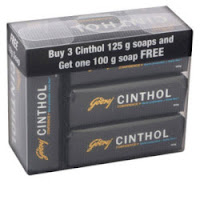 Buy Cinthol Confidence Soap 125gmx3 + 100gm Free at Rs. 86 :BuyToEarn