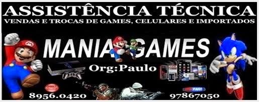 MANIA GAMES