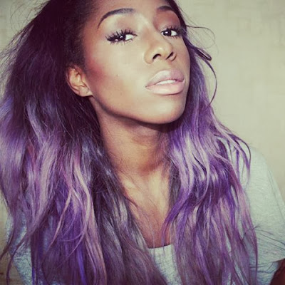 Girls With Light Purple Hair Tumblr pastel hair colors ombre