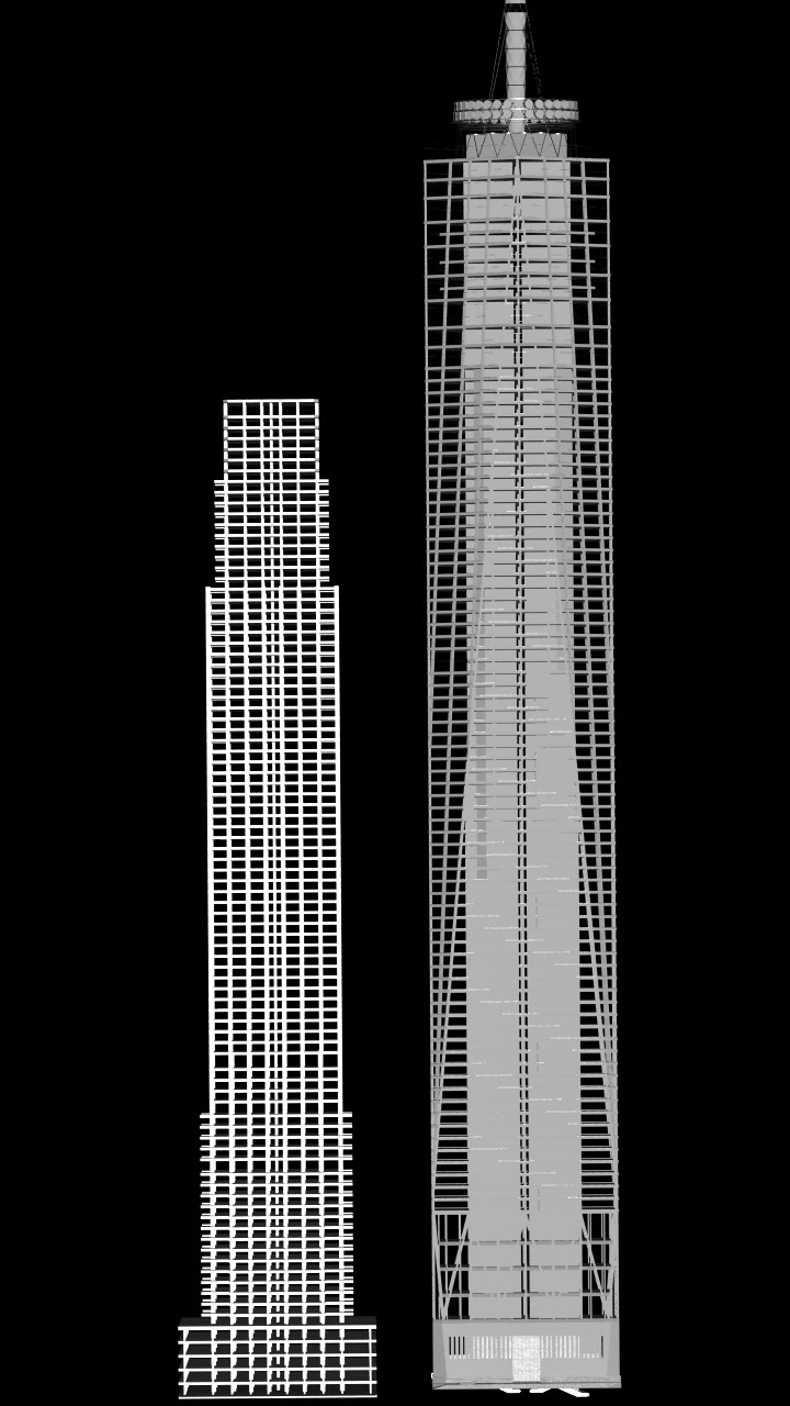Skyscrapers One World Trade Centre Design
