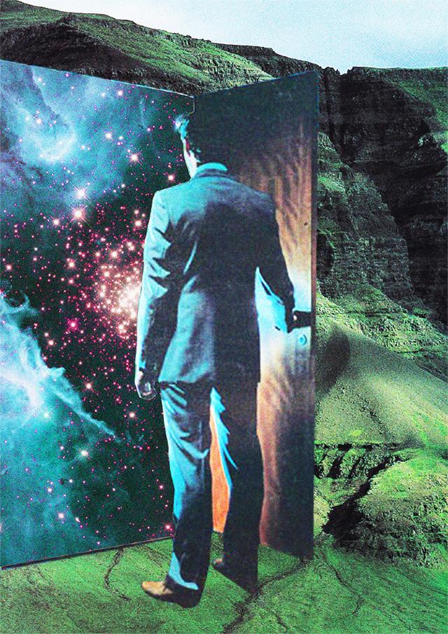 Mariano Peccinetti, Collage al infinito, Transvorder.