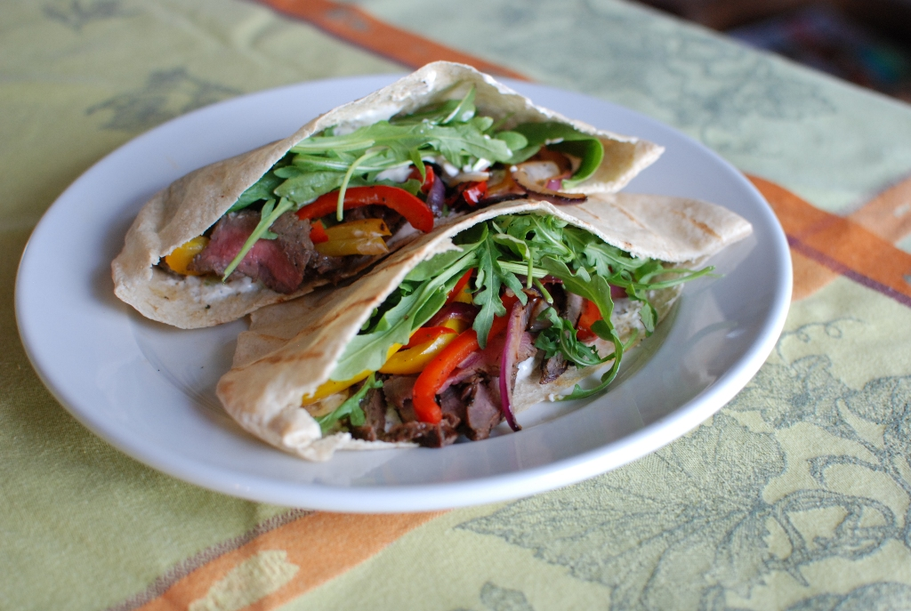 Lamb Pitas With Cucumbers And Yogurt Sauce Recipes — Dishmaps