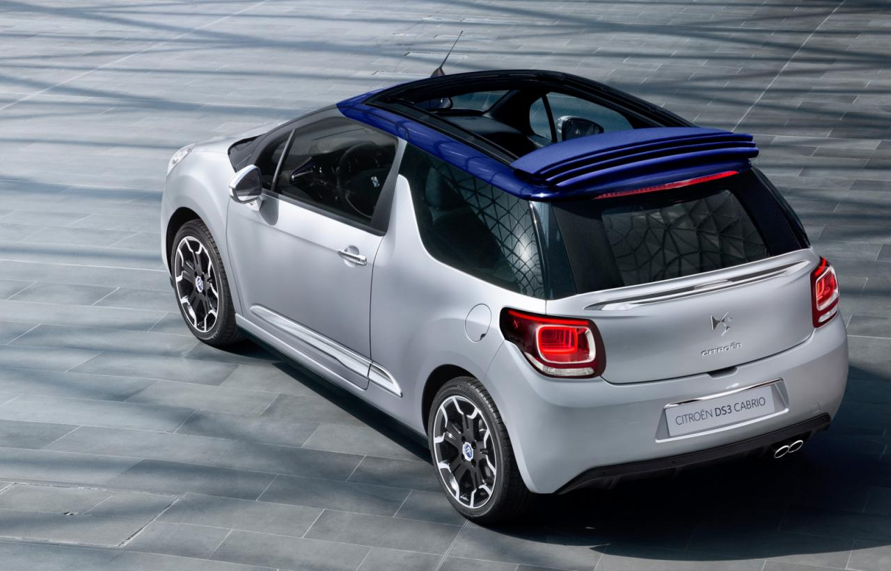 bhp news citroen ds3 cabrio revealed. Black Bedroom Furniture Sets. Home Design Ideas