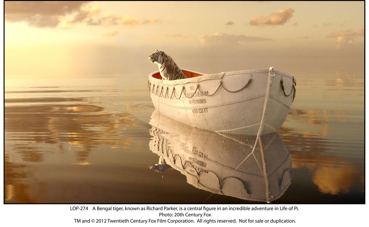 Aylmer to zazzoo and beyond life of pi review for Richard parker life of pi