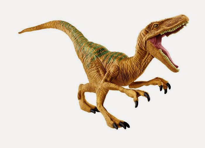 JUGUETES - JURASSIC WORLD  Velociraptor Echo | Dinosaurio | Figura - Muñeco  Producto Oficial Película 2015 | Hasbro B1142 | A partir de 4 años