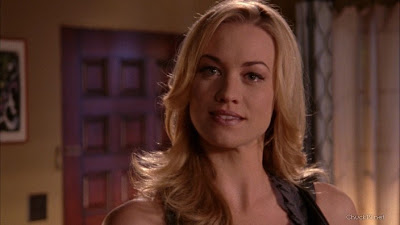 Close up on Yvonne Strahovski