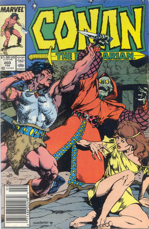 Conan the Barbarian (1970) Issue #203 #215 - English 1