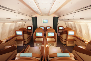 Oman Air Business Class Cabin