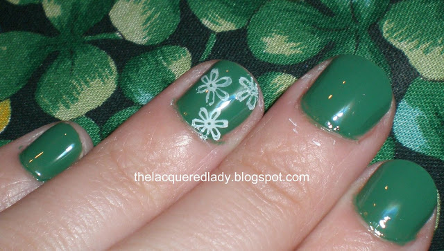 Saint Patrick's Day Manicure