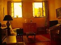 cortinas rústicas de salon