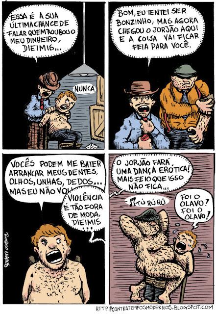 Charges e Tirinhas - Página 3 Tortura
