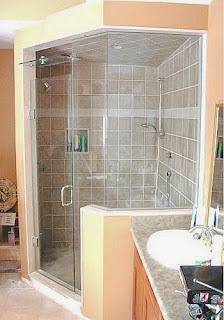 Shower Splash Guards Our Shower Splash Guards Arenu0027t Your Every Day Guards  That Glue Into The Corner Near The Top Of Your Tub. These Splash Guards  Stops Wet ...