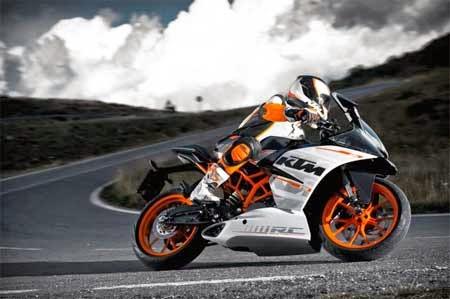 koleksi gambar motor KTM terbaru