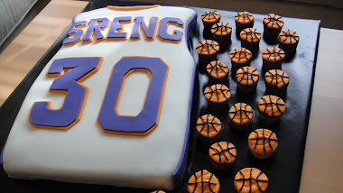 30th Bday Jersey Cake