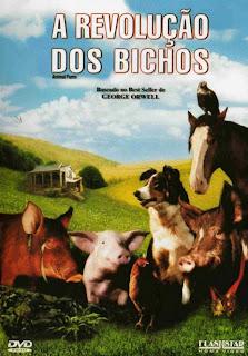 Filme Poster A Revolução dos Bichos DVDRip XviD & RMVB Dublado